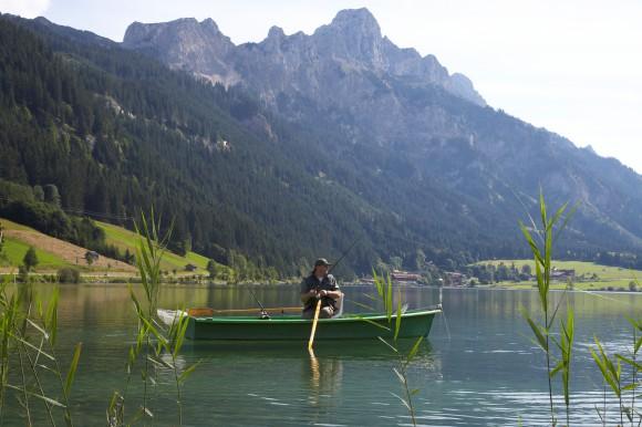 Die Angelsaison im Tannheimer Tal dauert von Anfang April bis Ende September Bildnachweis: Tourismusverband Tannheimer Tal