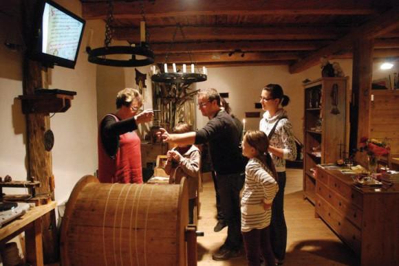 Wachsstubenmuseum Friesach bei St. Veit in Kärnten.