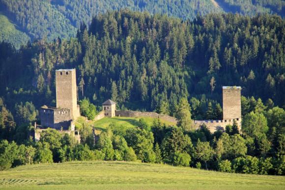 Die Burg Liebenfels im Süden Österreichs.