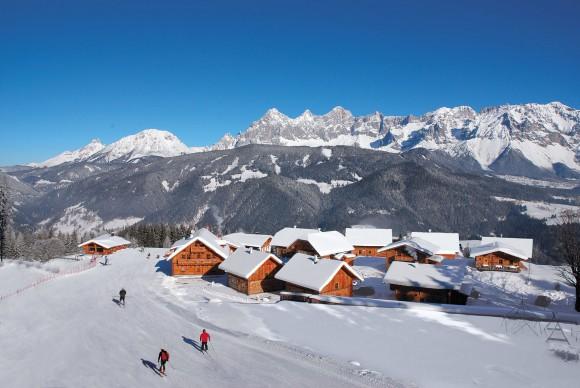 Winterpanorama Almwelt Austria. Foto: Almwelt Austria