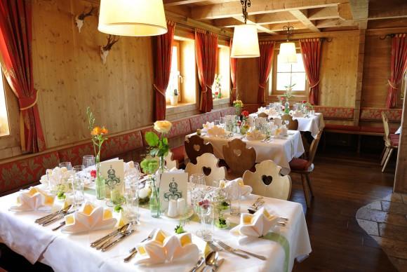 Dorfrestaurant Schnepf´n Alm. Foto: Almwelt Austria