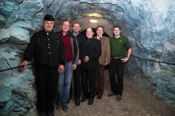 Die Mannschaft vom Bergbaumuseum in Klagenfurt