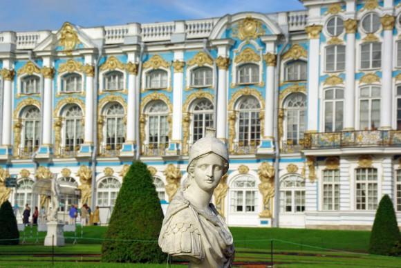 Katharinenpalast in Puschkin, Russland (c)Schnieder Reisen