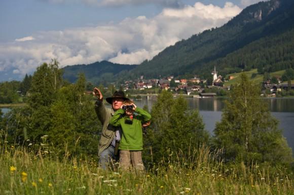 NATUR BEOBACHTEN AM WEISSENSEE. © Österreich Werbung