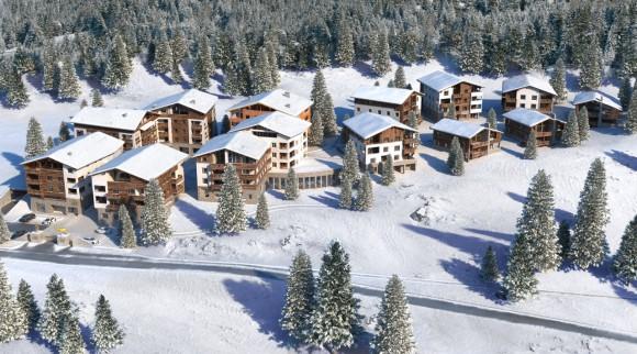Neuer Ferienpark - Landal Alpine Lodge Lenzerheide in der Schweiz