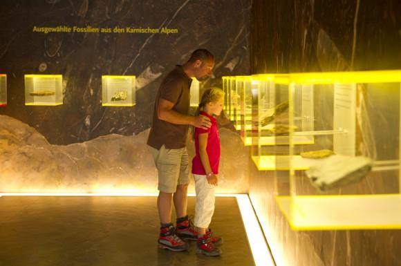 Im Besucherzentrum die geologischen Besonderheiten der Region erfahren Foto: GeoPark Franz Gerdl