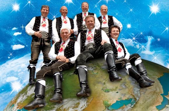 In Basel dabei: Die Kastelruther Spatzen