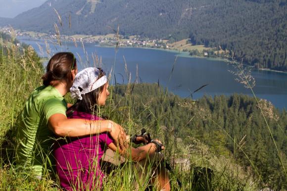 Blick auf den idyllischen Weissensee. Foto: weissensee.com