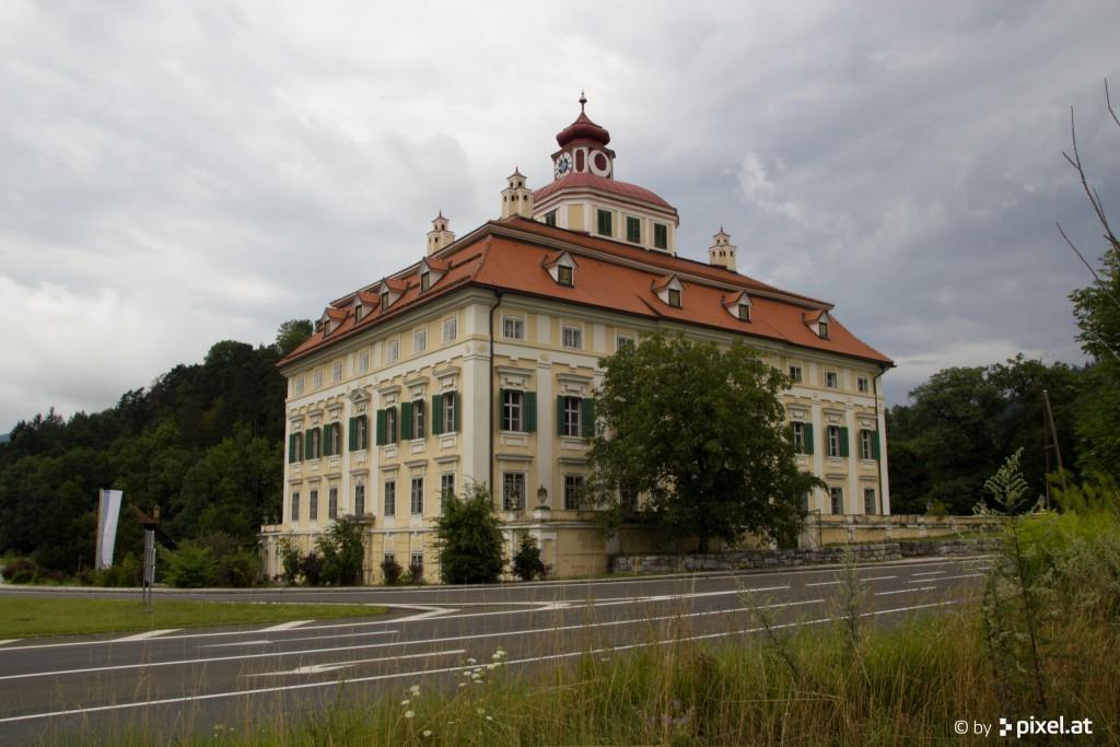 Schloss Pöckstein ist ein frühklassizistisches Schloss am Eingang des Kärntner Gurktales. Foto: pixel.at