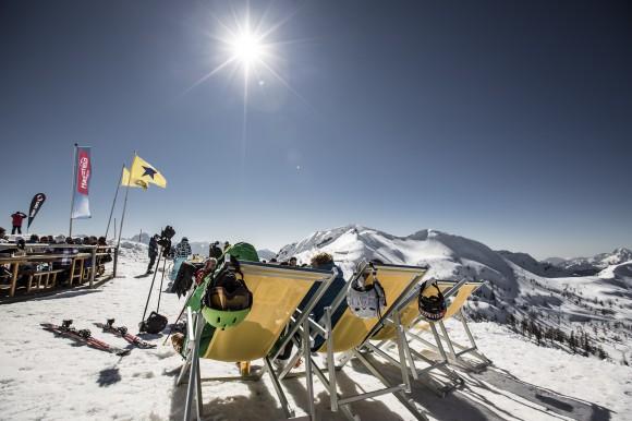 Skifahren am Nassfeld 2014-03-09
