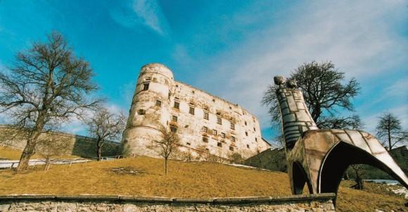 Alte Burg Gmünd. Foto: Kulinarikführer Kärnten.