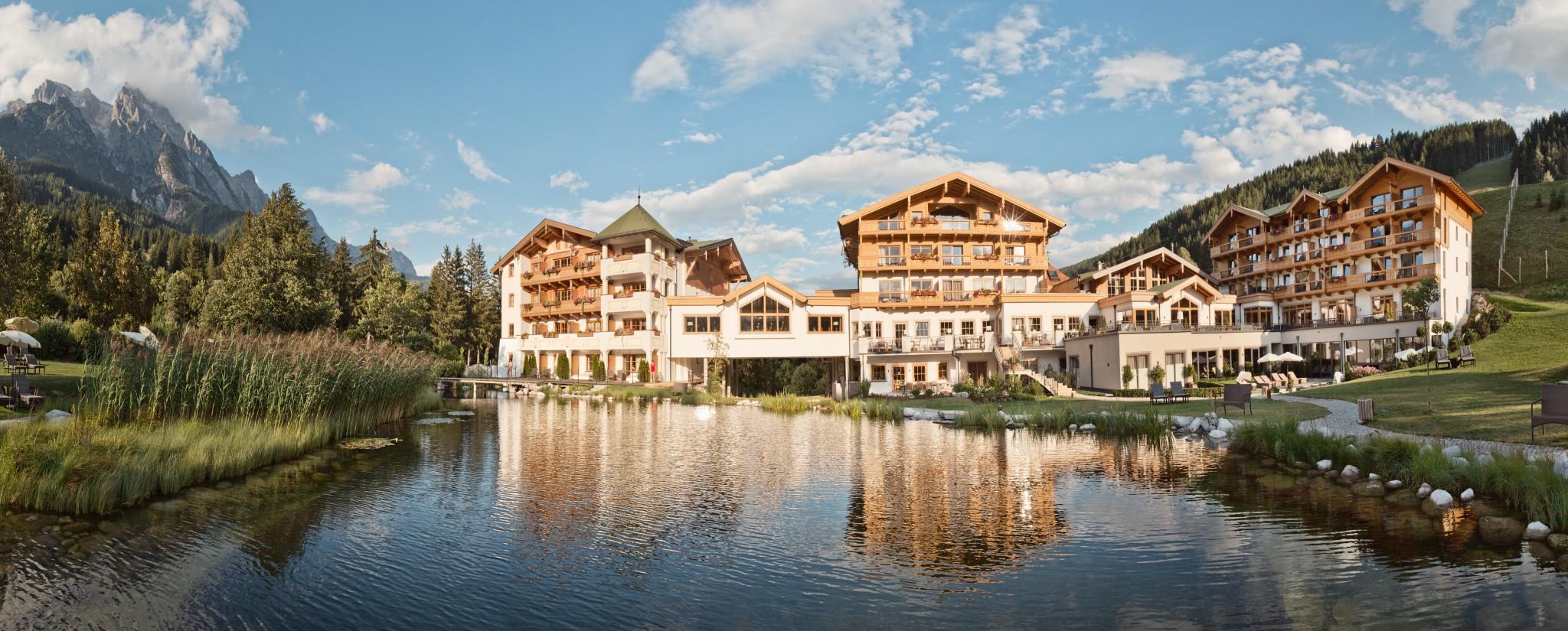 Naturhotel forsthofgut in leogang im salzburger land for Design hotel salzburger land