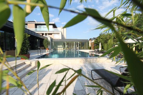 Villa Vitalis & Revital Aspach. Poolbereich