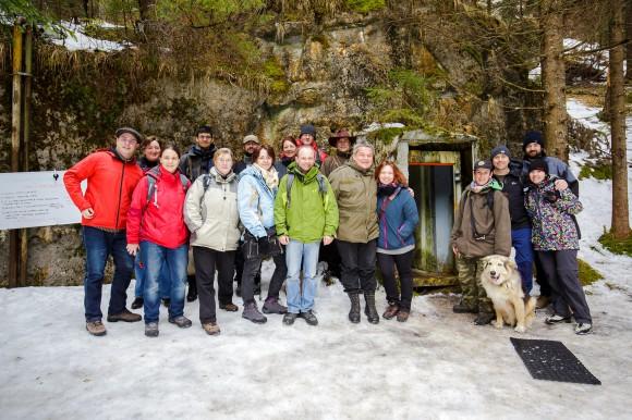 Die Freunde des Bunkermuseums zu Besuch bei LandScapes