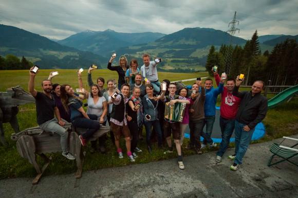 Die Elite der internationalen Tourismus-Blogger zu Gast in Österreich. Fotocredit: Christian Lendl/Österreich Werbung