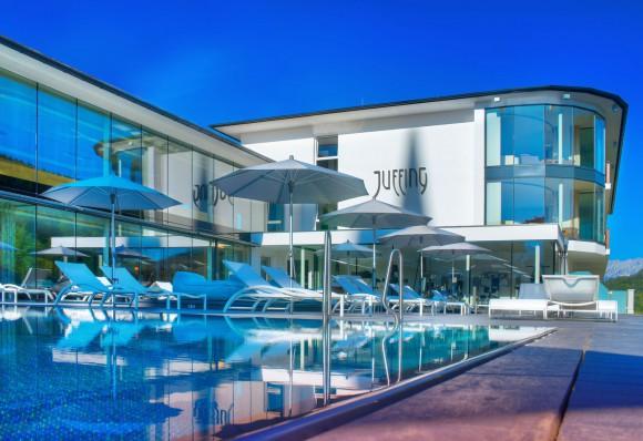 Juffing Hotel und Spa in den Tiroler Bergen. Foto: Juffing Hotel & Spa
