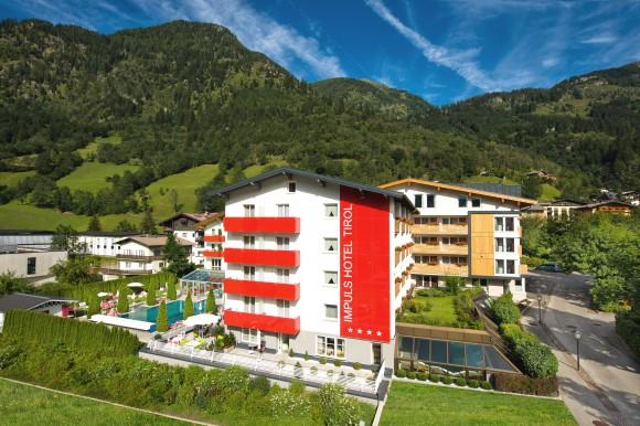 Das Impuls Hotel Gastein in Tirol.