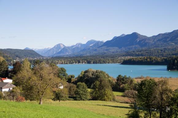 Der wunderschöne Faaker See. Foto: pixelpoint