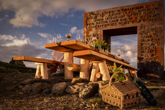 Kulinarische Landschaften am Granattor. Foto: MARTIN HOFER/Kärnten Werbung