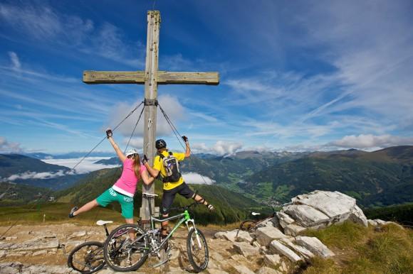 Nockbike-Erlebnis in der Region rund um Bad Kleinkirchheim.