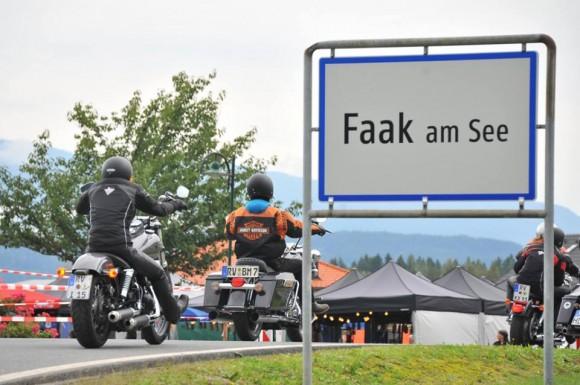 European Bike Week am Faaker See. Foto: pixelpoint/Nicolas Zangerle