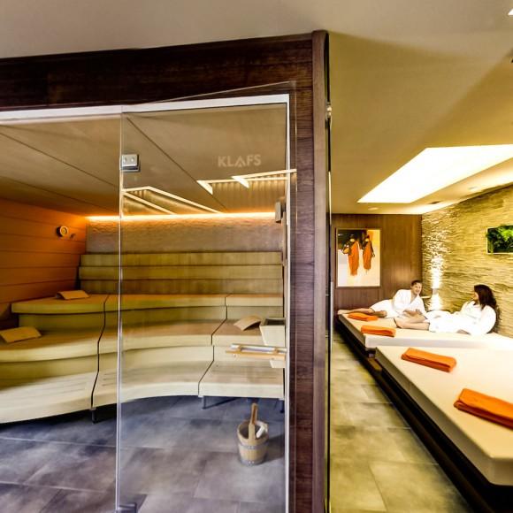 Die Sauna vom Seehotel Adler