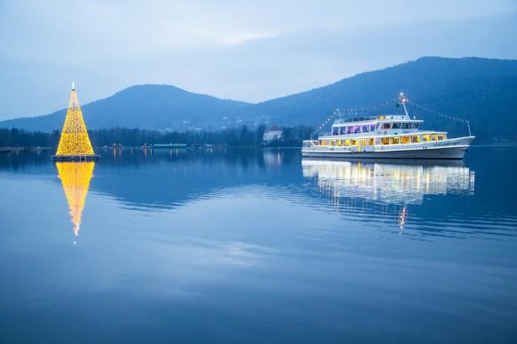 Adventschifffahrt am Wörthersee. Foto: pixelpoint