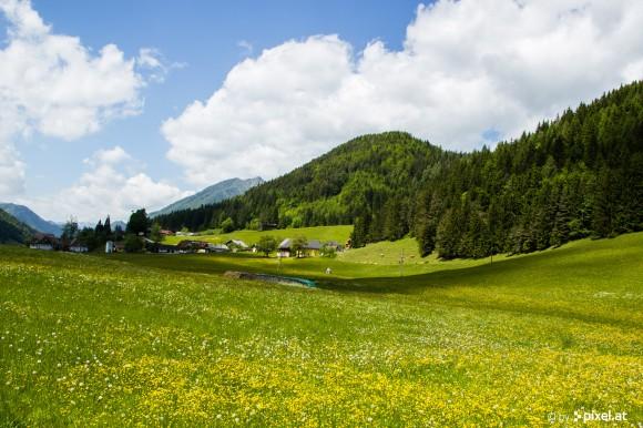 Bergsteigerdorf Zell-Pfarre in Kärnten. Foto: pixelpoint/Handler