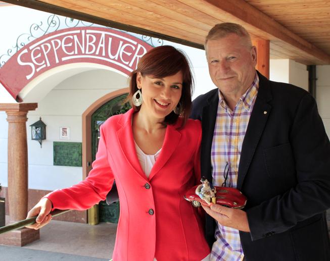 Maruska und Guido Schwengersbauer. Foto: ART/Neuhuber