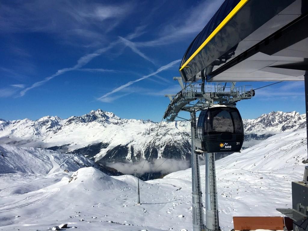 Neu seit 2014: die Versingbahn in See. Foto: Bergbahnen See