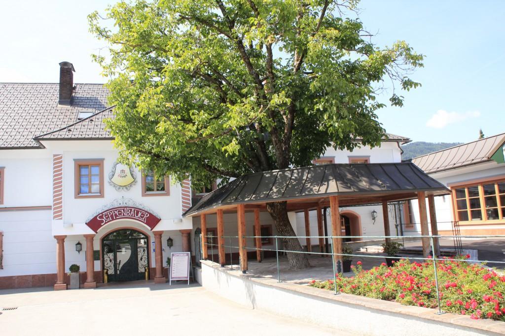 Das Landhotel Seppenbauer in Kärnten.