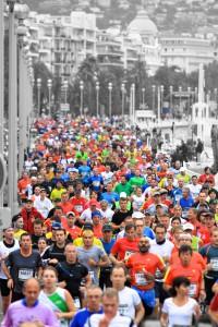 Marathon in Nizza. Foto: Alexandre Bermond