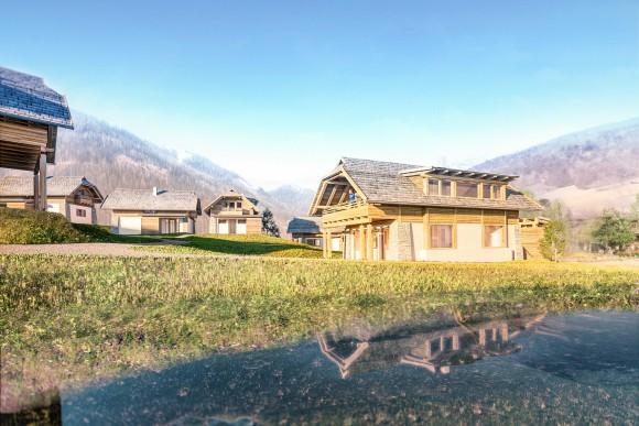 Trattlers Hof-Chalets in Bad Kleinkirchheim werden ein komfortabler Rückzugsort für Familien.