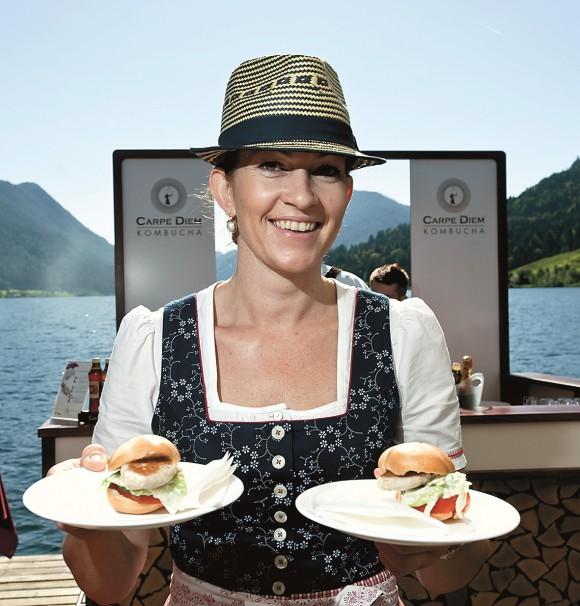 Kulinarik am Weissensee. Foto: Neumüller/Nassfeld.at