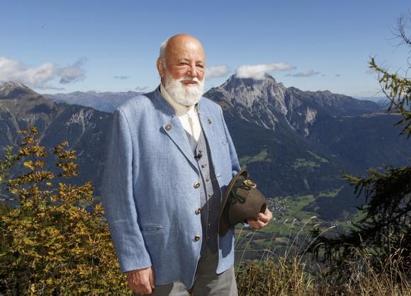 Sepp Forcher vor Reißkofel. Foto: Anton Wieser