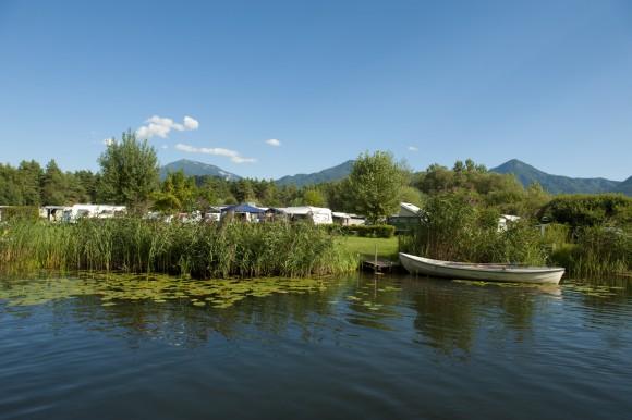 Camping in Kärnten. Foto: Kärnten Werbung/Zupanc
