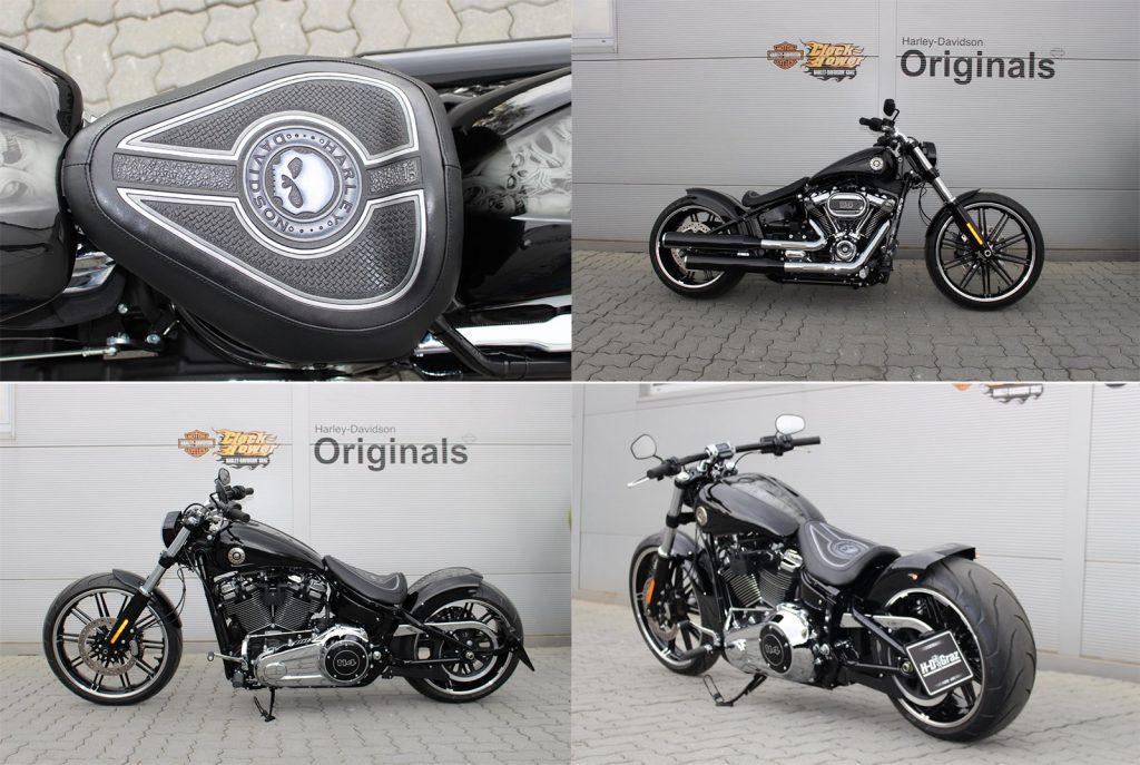 Als Preis winkt hier ja die nagelneue Harley Davidson Softail Breakout, nach Umbau ein Einzelstück mit 94 PS und einem Hubraum von 1868 ccm.