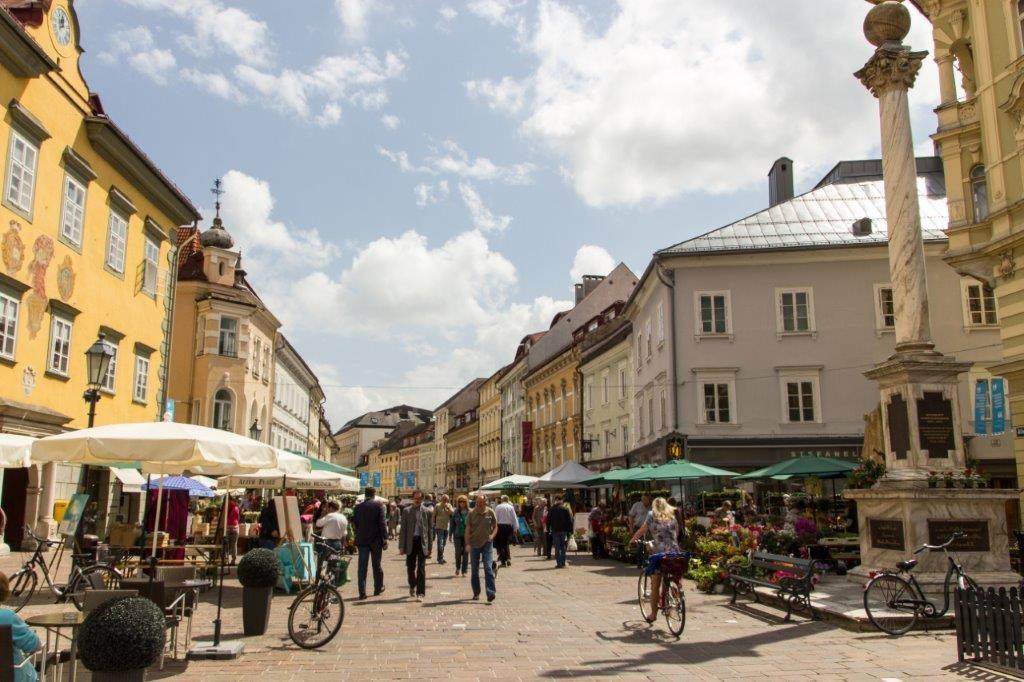Die Landeshauptstadt Klagenfurt wird zu einer wahren Genussmeile. Foto: pixelpoint