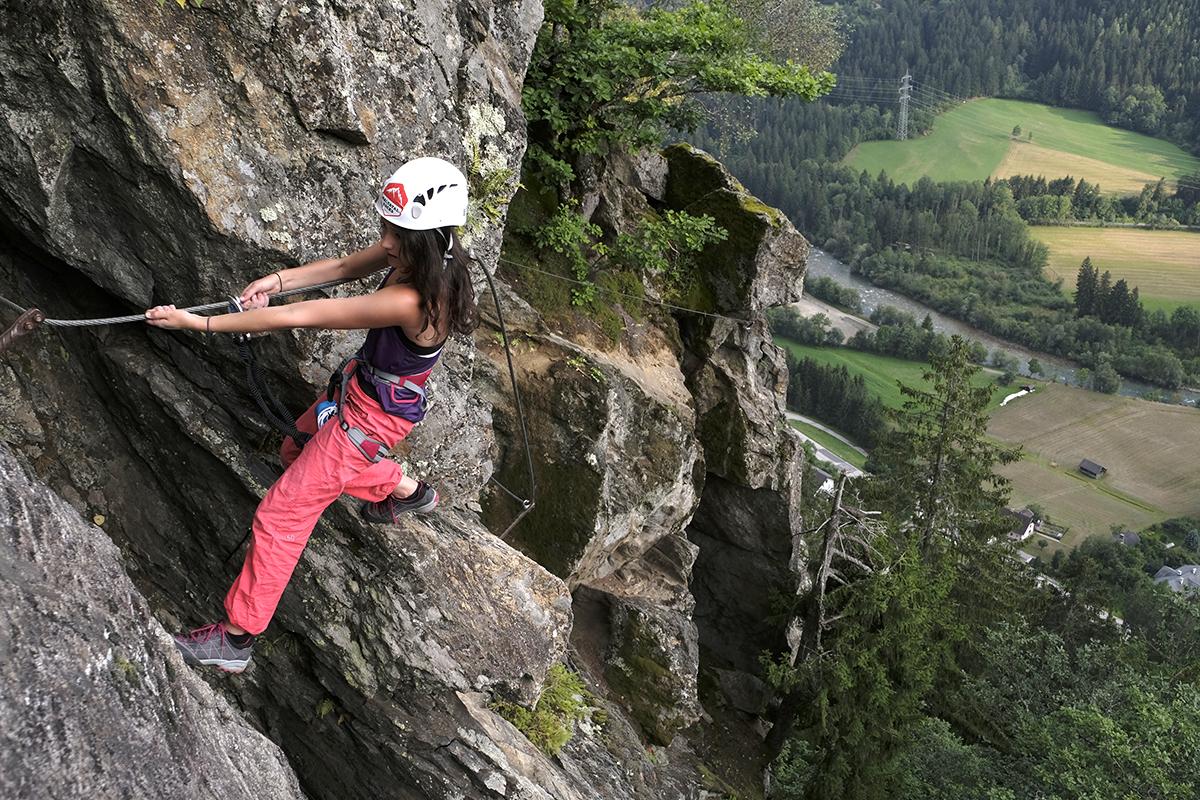 Klettersteigset Tipps : Test lacd via ferrata comfort klettersteigset
