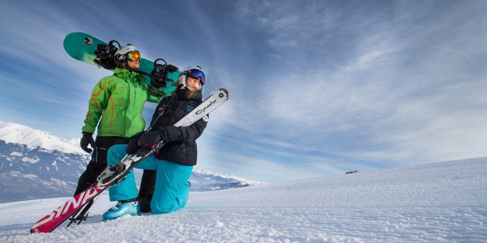 Im Skikarussell rund um den Millstätter See
