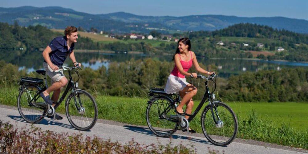 Mit dem E-Bike durch Mittelkärnten