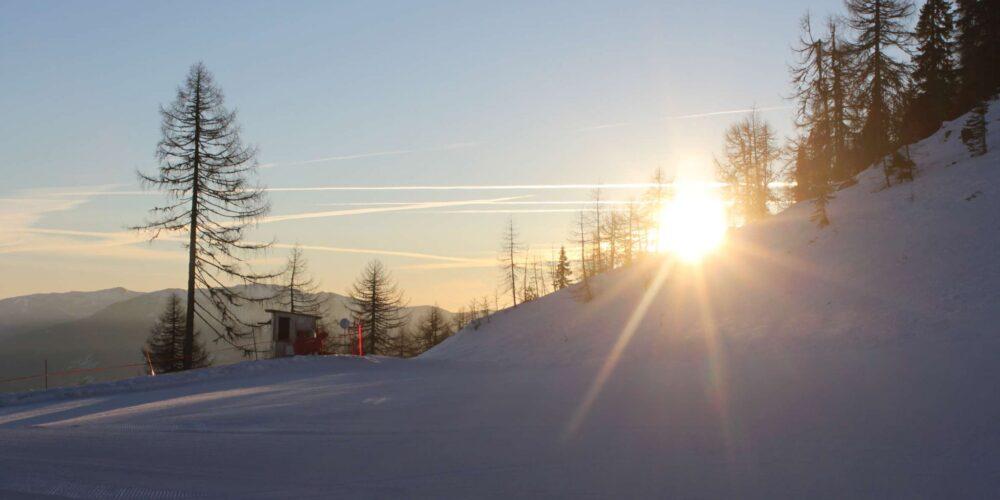 Early Morning Skiing: Zum Frühstück aufs Goldeck