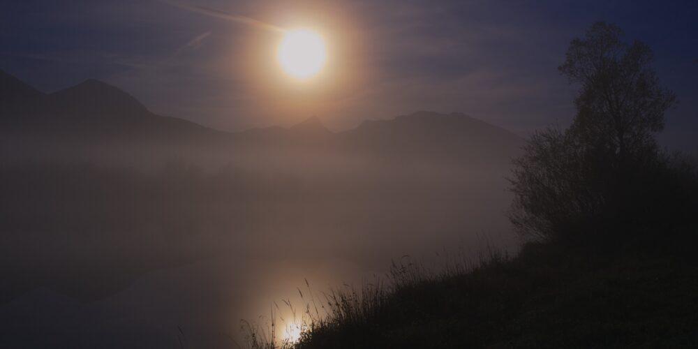 Meditative Vollmondwanderung oder der Weg zu sich selbst