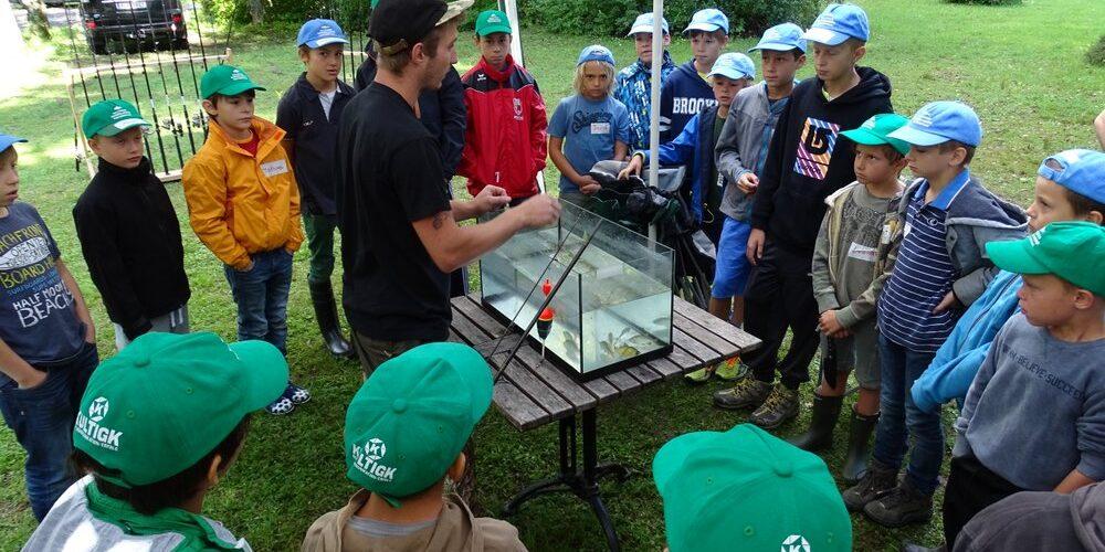 Fischereicamps für Kinder und Jugendliche