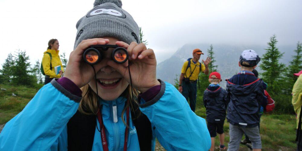 Auch sanfte Gipfel bergen Abenteuer