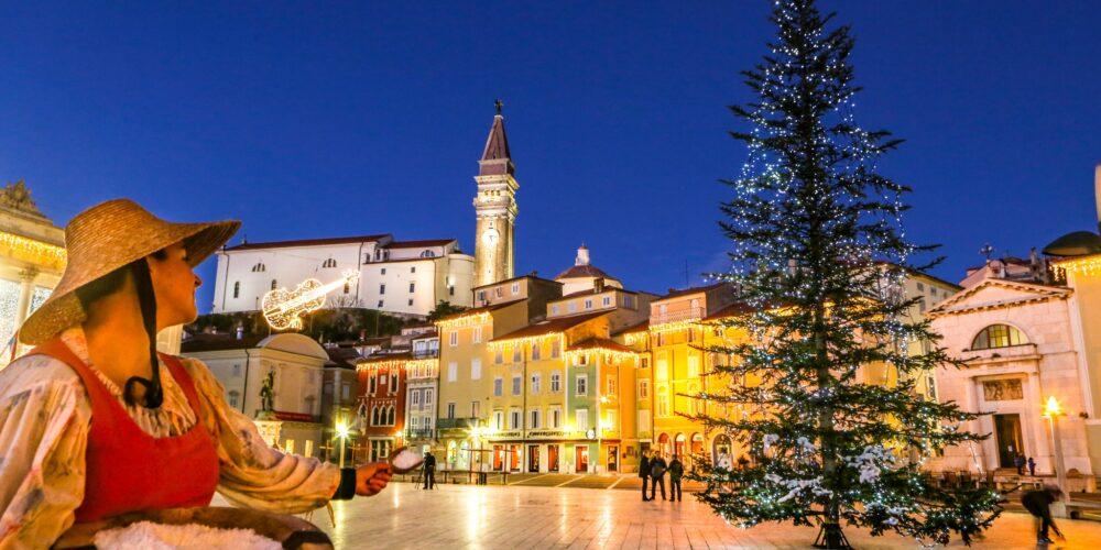 Fröhliche Feiertage an der Adria