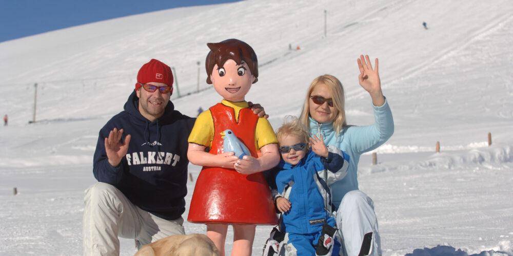 Heidi's Ski-Erlebnis in Kärnten