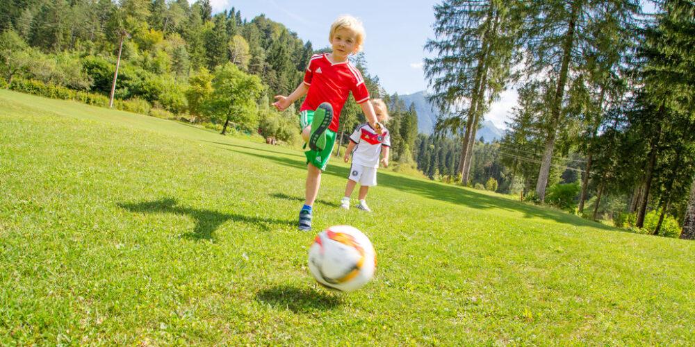 Erlebnis Fußballgolf im Soča-Tal