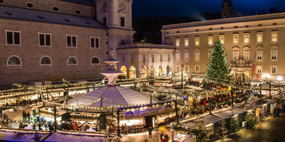 Vorweihnachtliches Erlebnis: Die schönsten Adventmärkte in Salzburg