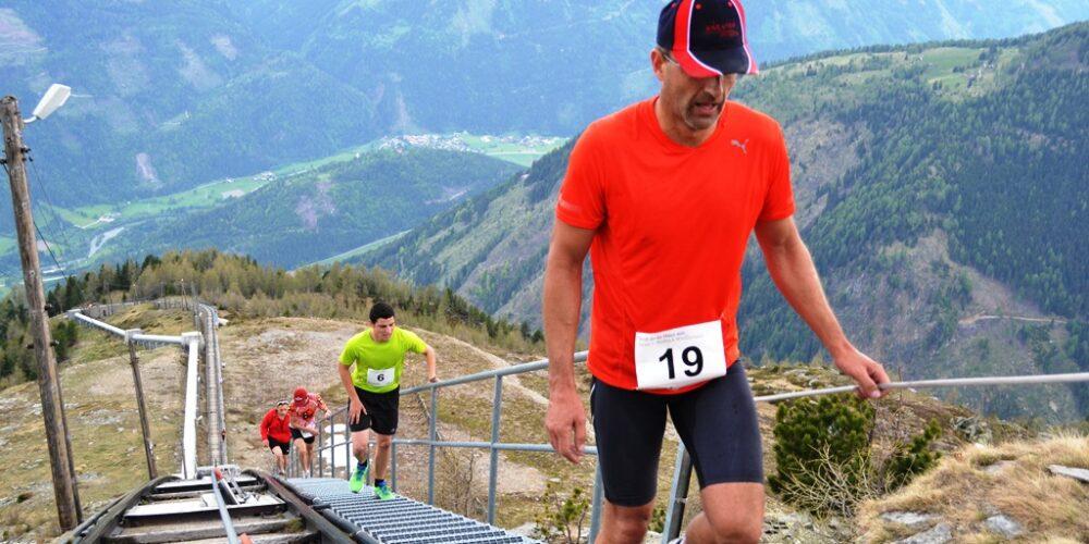 """Neuauflage des """"Wadelbeissers"""": Treppenlauf in Kärnten"""